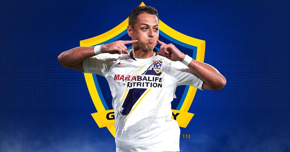 Javier 'Chicharito' Hernández ya es jugador oficial de LA Galaxy de la MLS