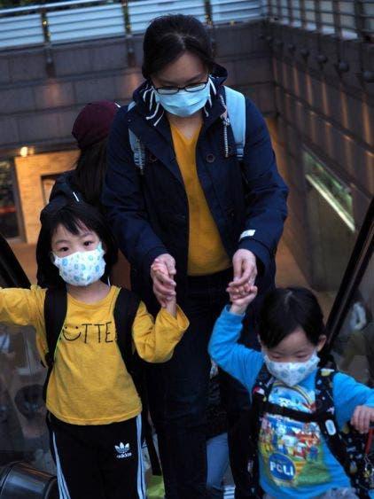 Prevenciones de la población en Taiwan.