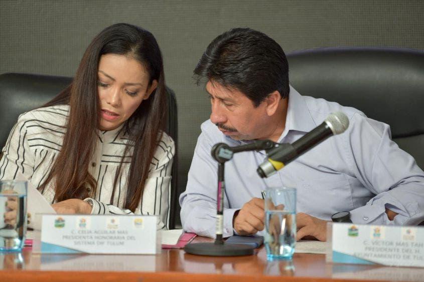 Se autorizó el ejercicio de 12 millones 325 mil 711 pesos para el DIF Tulum
