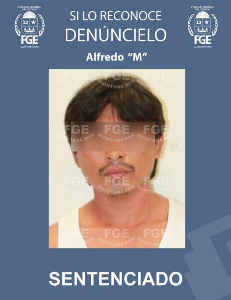"""En Felipe Carrillo Puerto condenan a 48 años de prisión a un violador; Alfredo """"M"""", abusó de una menor de edad en una comunidad del Sur."""