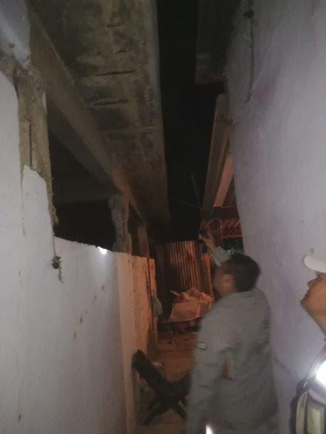 Reportan en Oaxaca daños en casas y en hospital tras sismo; el epicentro fue Unión Hidalgo, en el Istmo de Tehuantepec.