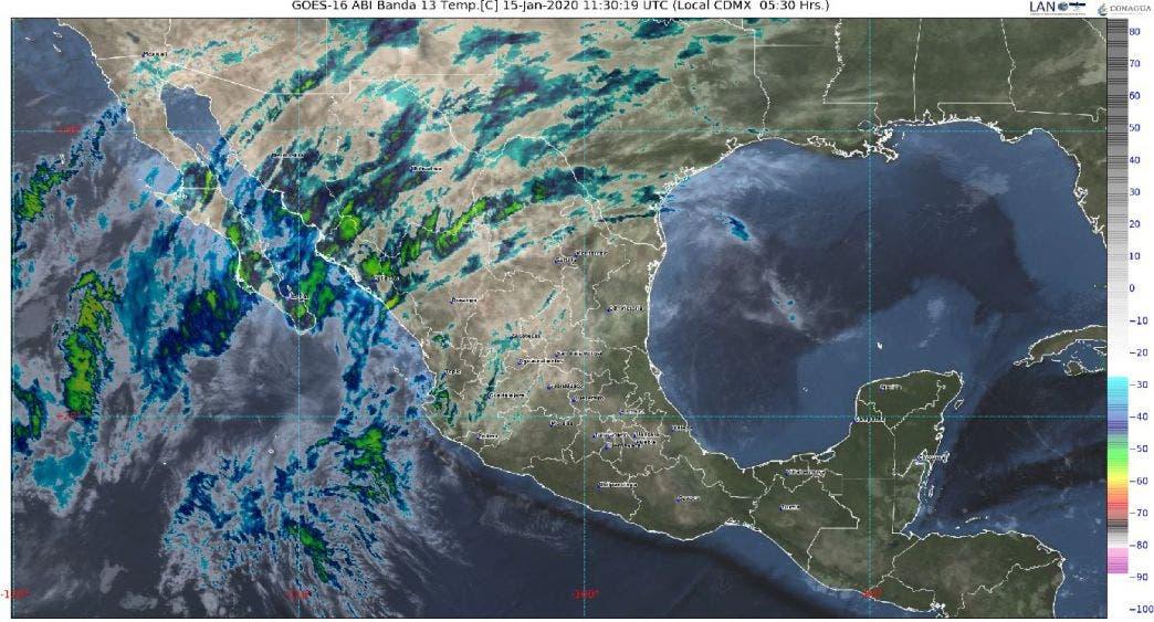 Pronóstico del clima para hoy miércoles 15 en Quintana Roo; se mantiene la entrada de aire marítimo tropical hacia la Península.