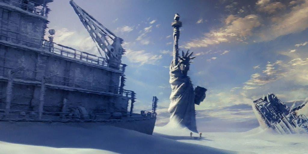 """Como en la película de ficción """"Un día después del mañana"""" la tremenda tormenta de nieve que se avecina, amenaza con cubrir medio Estados Unidos."""