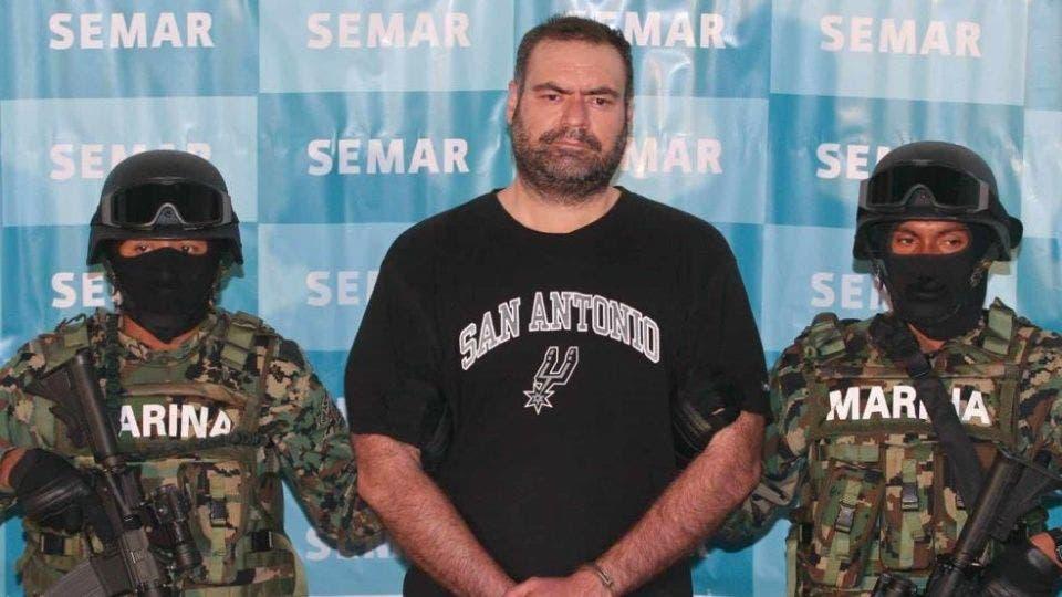 """Sergio Villarreal, """"El Grande"""", el día de su detención."""