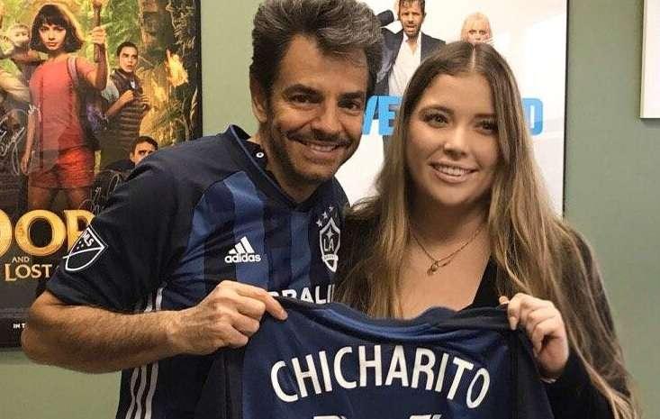 """Eugenio Derbez presentó al Chicharito: """"Imaginémonos cosas chingonas"""""""