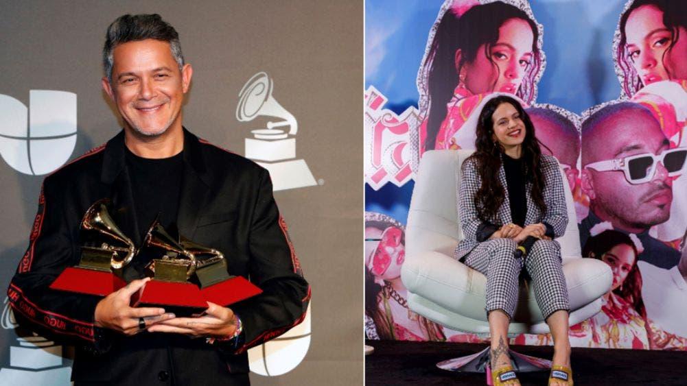 Alejandro Sanz, Rosalía y Marc Anthony, se llevan los Grammys latinos en la 62 edición