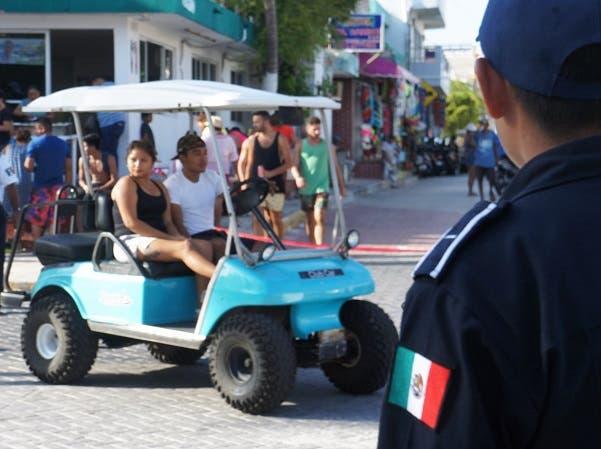 Poca inversión para seguridad pública en Isla Mujeres.