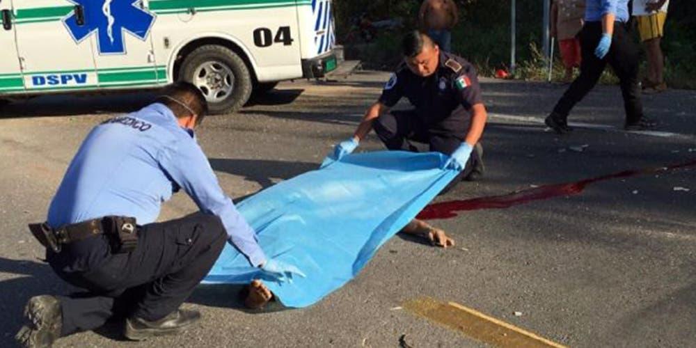 Campesino pierde la vida al ser atropellado en Motul