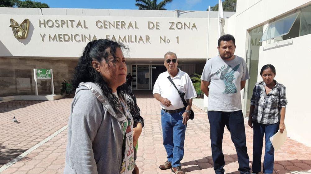 Se quejan derechohabientes de deplorable servicio en IMSS Chetumal