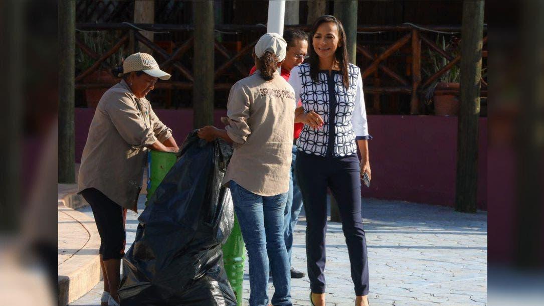 Mantiene Laura Fernández programa emergente de limpieza