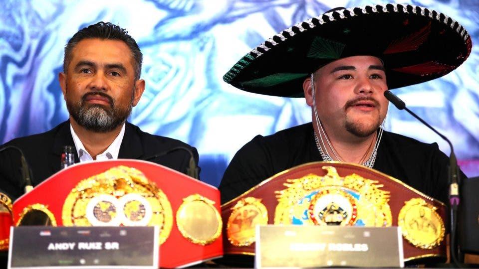 """""""Andy Ruiz Jr hacía lo que le daba la gana"""": Manny Robles Jr"""