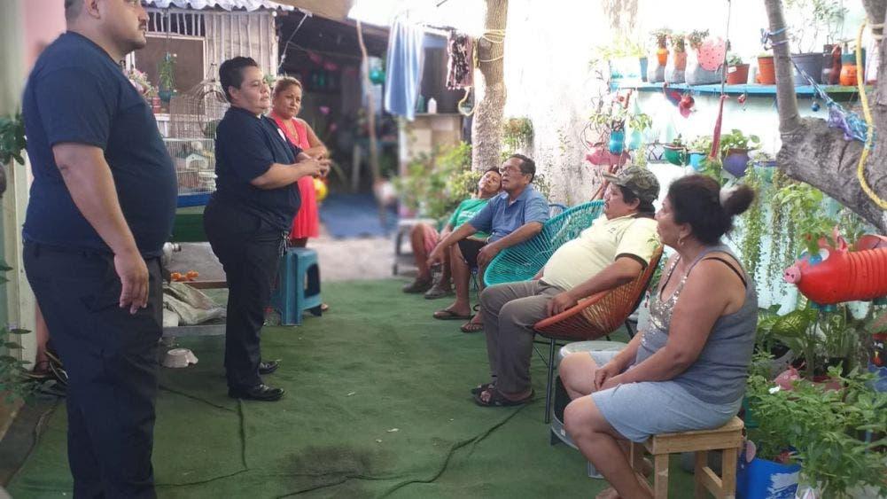 """""""El GEAVI es una herramienta en nuestra búsqueda de recomponer el tejido social y crear proximidad con la ciudadanía; nuestro objetivo es que los cancunenses recurren y confíen en ellos, ya que están para protegerlos y ayudarlos"""", Mara Lezama, Presidente Municipal de Benito Juárez."""