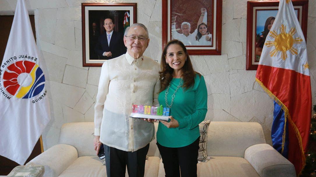 Afianza Mara Vínculos con las Filipinas