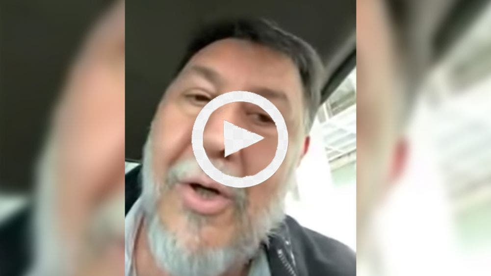"Video: Noroña se agarra ""del chongo"" con un taxista en CDMX"