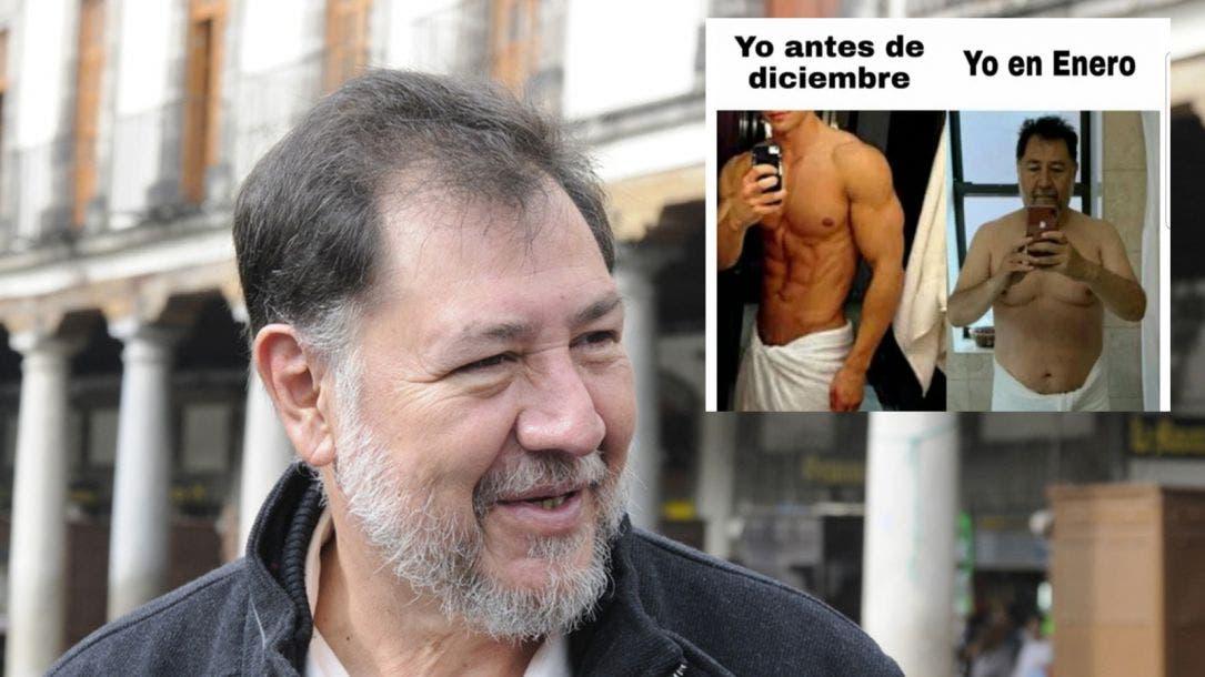 """El """"Noroña challenge"""" las redes estallan en """"memes"""" por foto del político"""