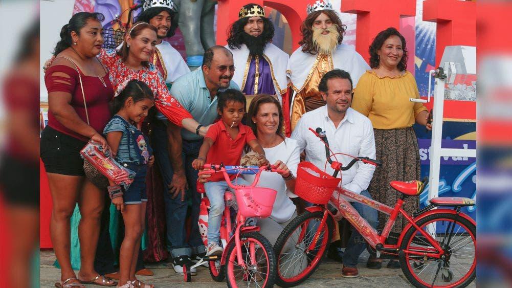Refuerza Pedro Joaquín sano esparcimiento de niñez de Cozumel