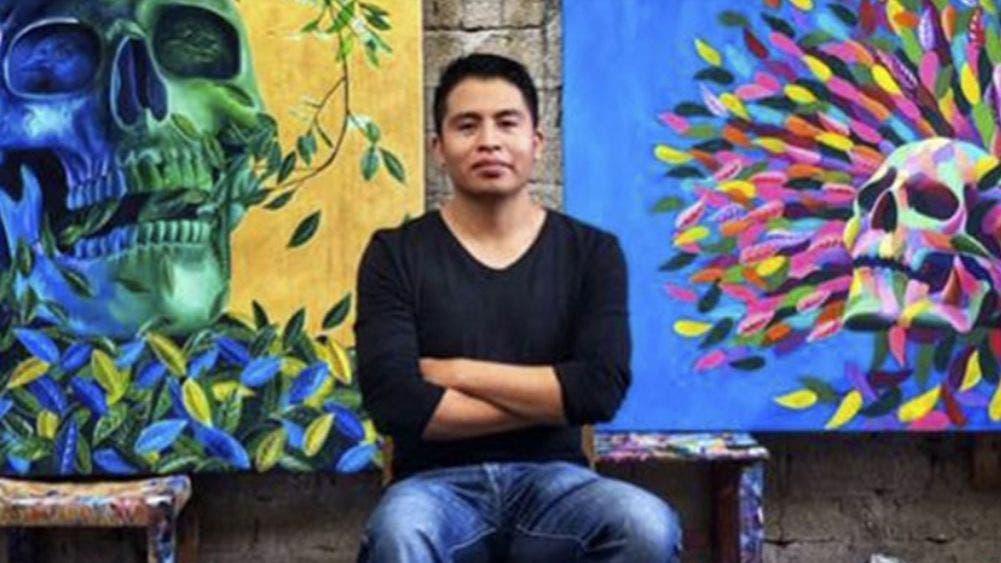 De Oaxaca para el mundo Carlos Bazán el pintor que cautivó a Disney