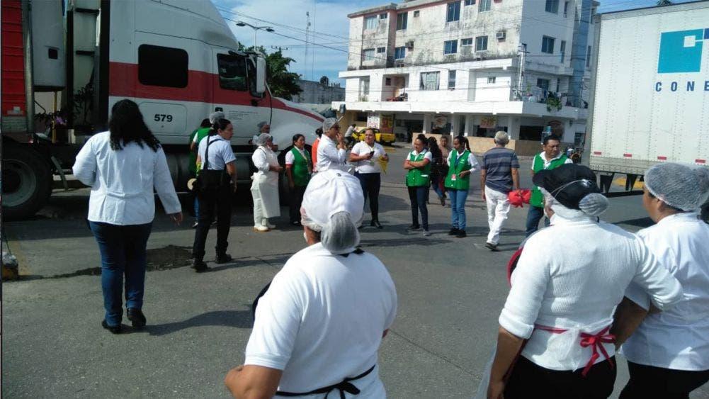 Coordina Protección Civil mega simulacro en Cozumel