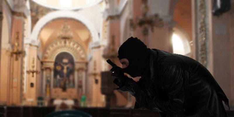 En México robaron en mil 400 iglesias en 2019.
