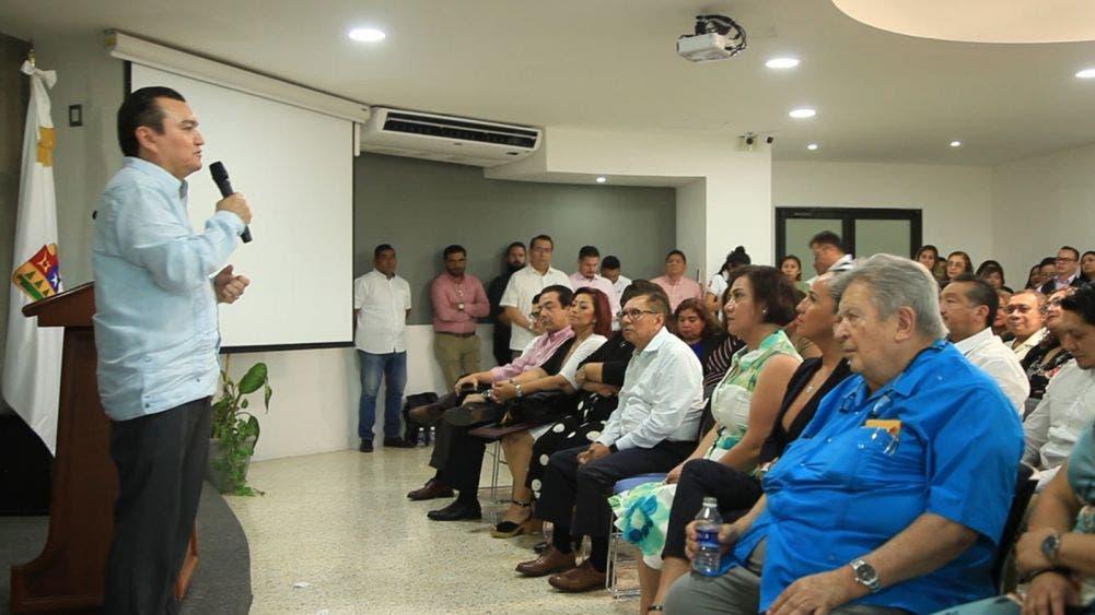 Reconocen labor de Gastón Alegre en Consejo de la Judicatura