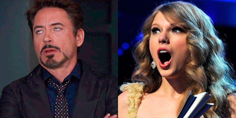"Tunden a Robert Downey Jr por llamar a Taylor Swift ""araña come machos"""