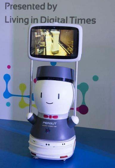 """El simpático enfermero robot """"Peanut"""" ha causado sensación"""