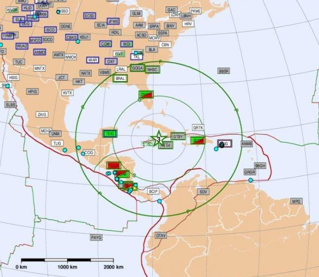 Alerta de tsunami para Jamaica, Cuba y México