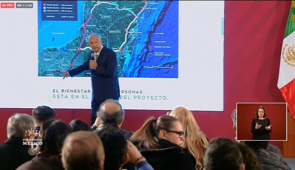 Inician licitaciones para Tren Maya; interés de Bank of China