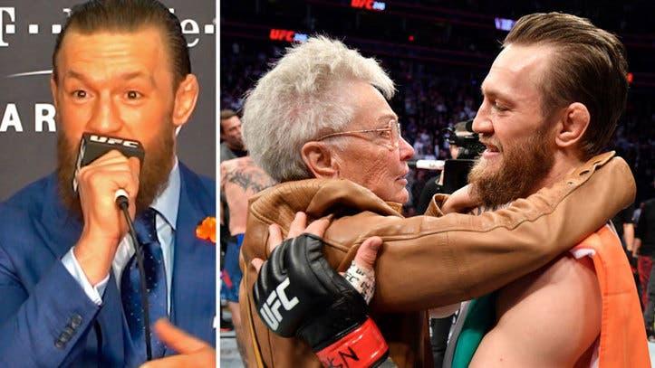 UFC | Conor McGregor ganó en 40 segundos su primer pelea