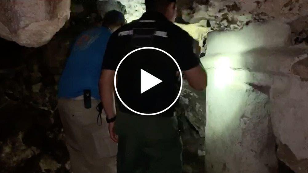 Descubren presunto vestigio maya junto a base de Policía Federal