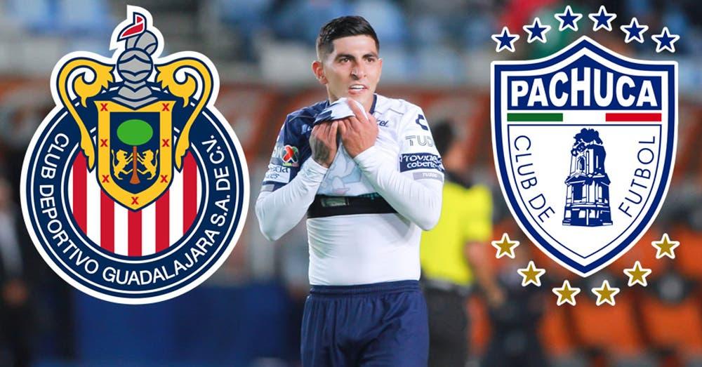 Regresan a Víctor Guzmán al Pachuca y ellos devuelven 2MDD a Chivas