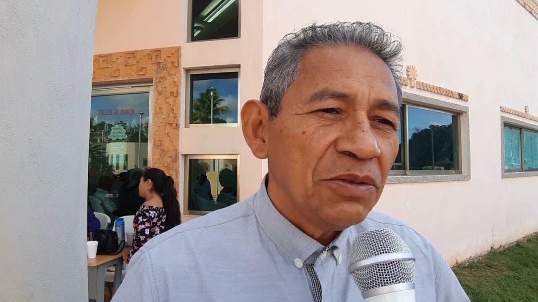 Donado Canul Tut, director de Asuntos Indígenas en José María Morelos.