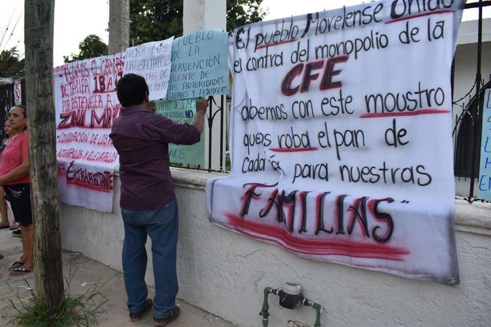 CFE reasignará tarifa a usuarios morelenses que cayeron en DAC.