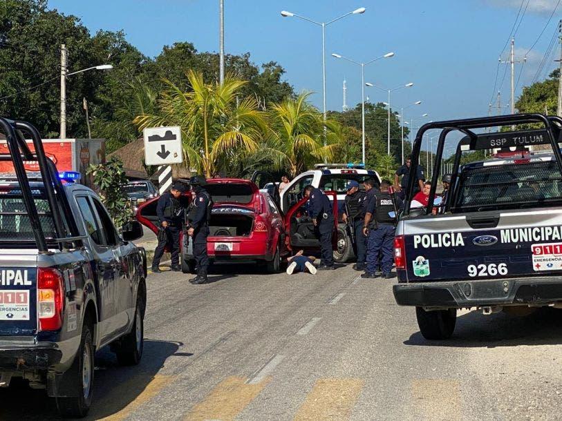 Detienen a presuntos responsables de atentar contra Narda de la Cruz.