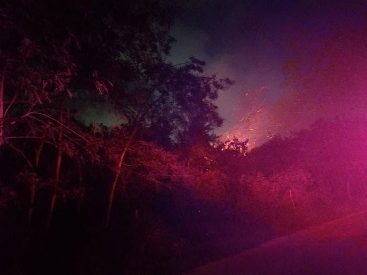 Incendio en la sabana de Chetumal pudo ser provocado.
