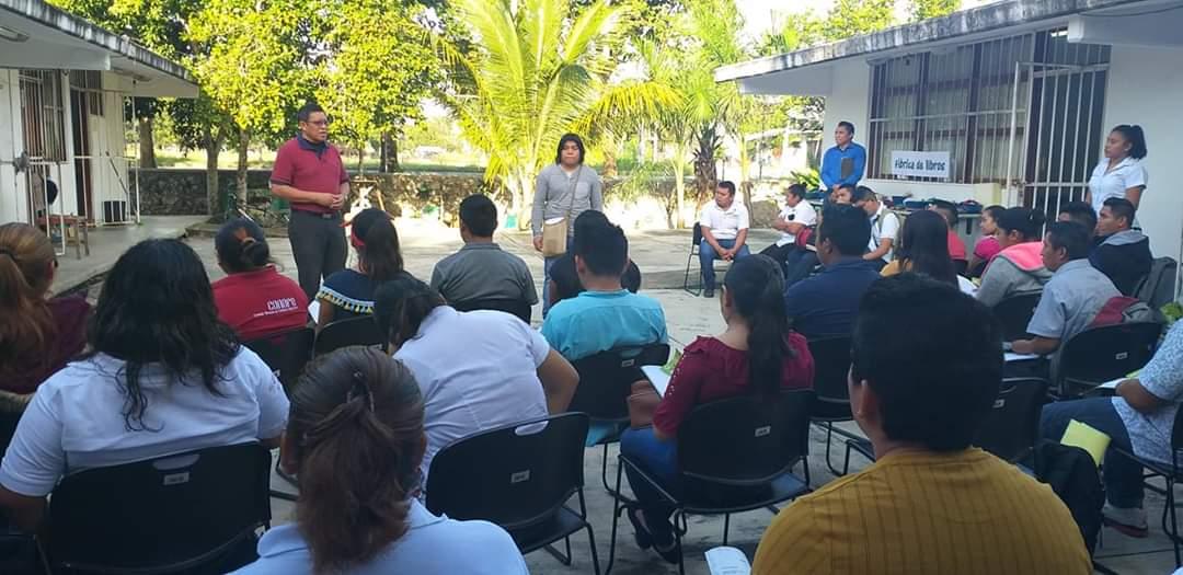 Promueve Culturas Populares taller dirigido a líderes comunitarios de Zona Maya.