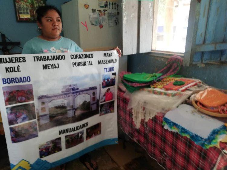 Piden apoyar proyecto de mujeres mayas de Kantunilkín.