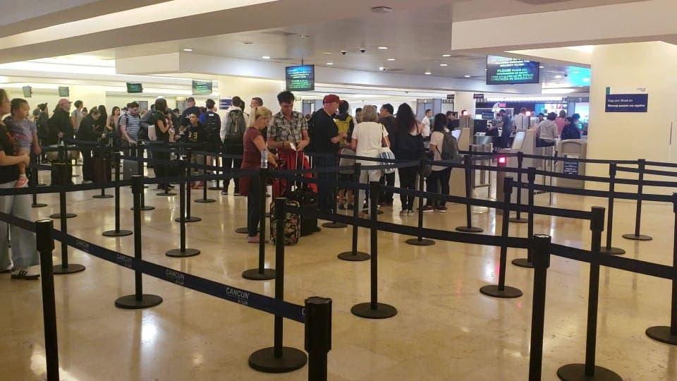 Minimiza Aeropuerto Internacional de Cancún alerta por coronavirus.