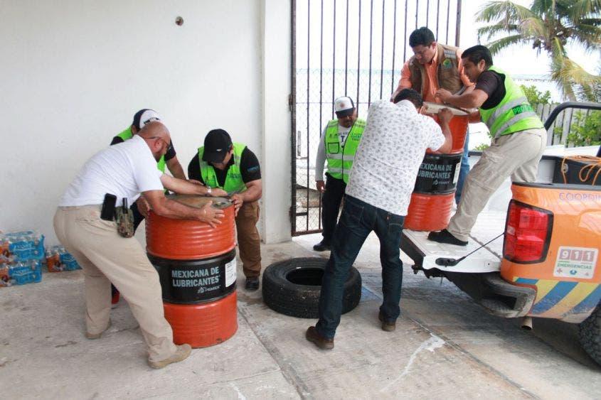 Refuerza Protección Civil búsqueda de pescadores en Xcalak.