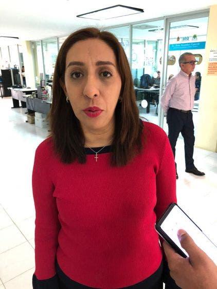 Coronavirus; no hay alerta por este tema, señaló la secretaria de Educación, Ana Isabel Vásquez Jiménez.