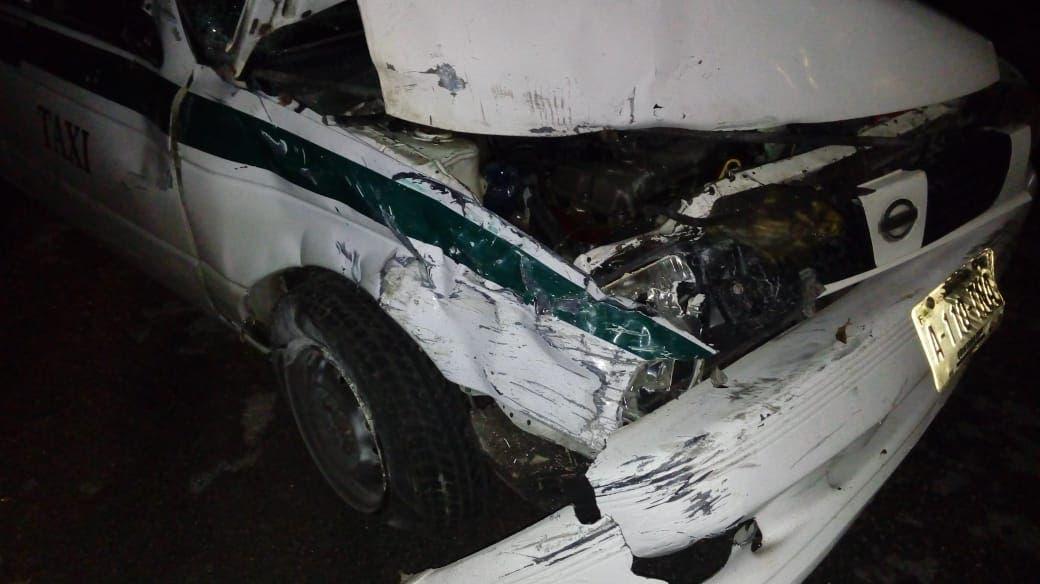 Motopatrullero evade su responsabilidad en un accidente; transitaba a toda velocidad y sin precaución por la Sm 63 de Cancún.