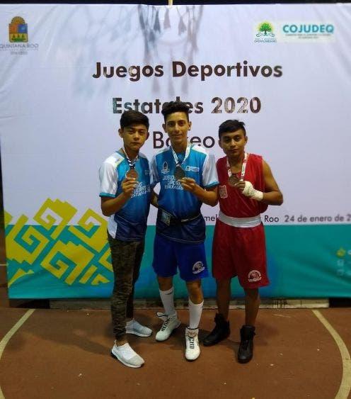 Destacada participación de atletas de la Zona Maya en los Juegos Estatales 2020; cosechan tres preseas en Cozumel.