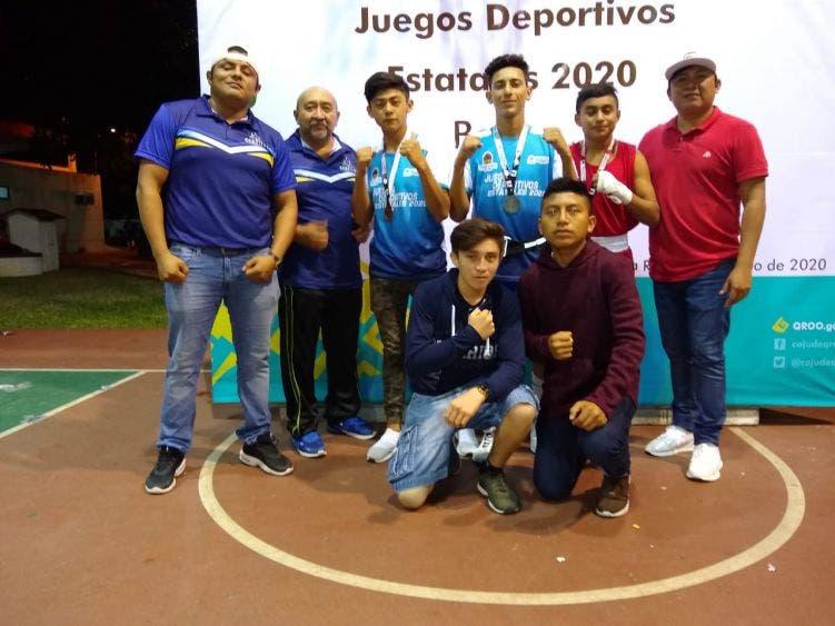Destacada participación de atletas de la Zona Maya en los Juegos Estatales 2020.