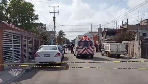 ejecución de una mujer en la región 100