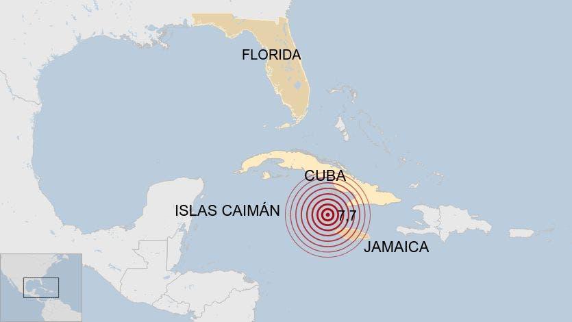 Videos del sismo de 7.3 grados en Cuba