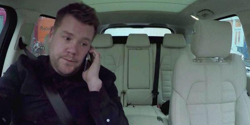 Exhiben a James Corden: No maneja en Carpool Karaoke