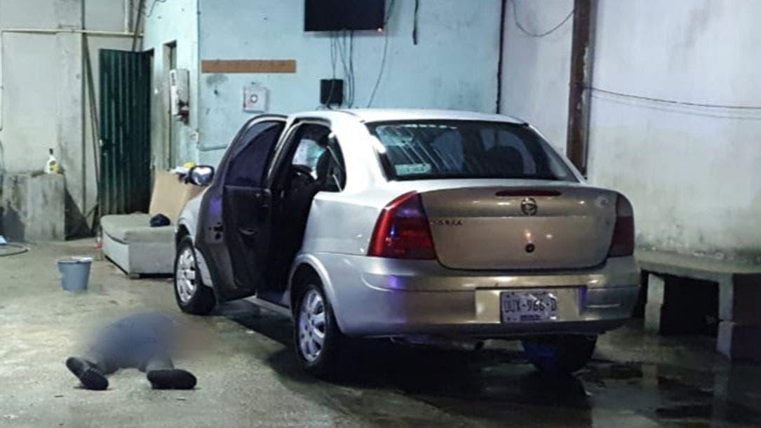 Ejecutan a lavador de autos en la región 239