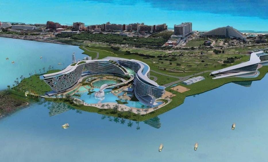 Grand Island se transforma en el World Trade Center Cancún.