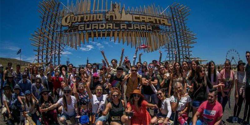 Revelan cartel del Corona Capital Guadalajara 2020