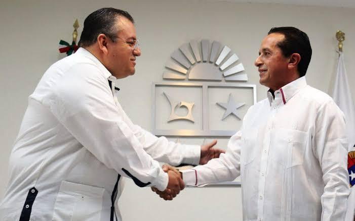 Alberto Capella, firme en la SESP: Carlos Joaquín.